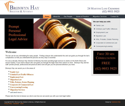 Bronwyn Hay Solicitor and Attorney
